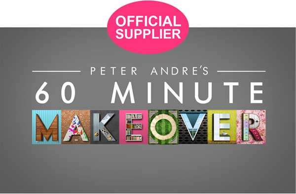 Peter andre 60 minute makeover logo