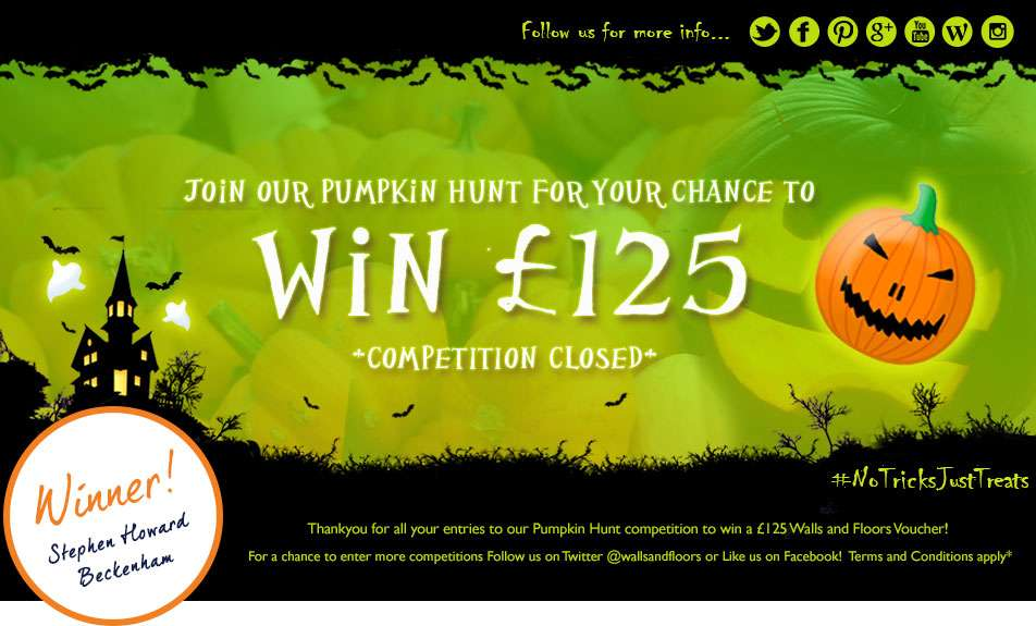 Win a voucher in our Halloween HUnt
