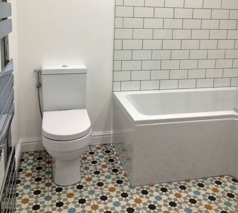 Tiling Around A Toilet Part 13