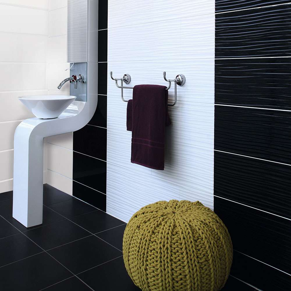 Simple Wave Tile  Houzz