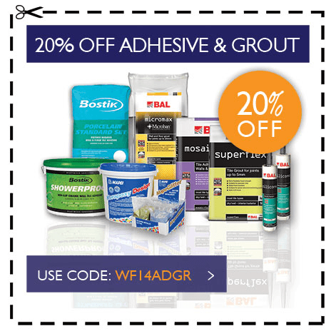 august adhesive grout code