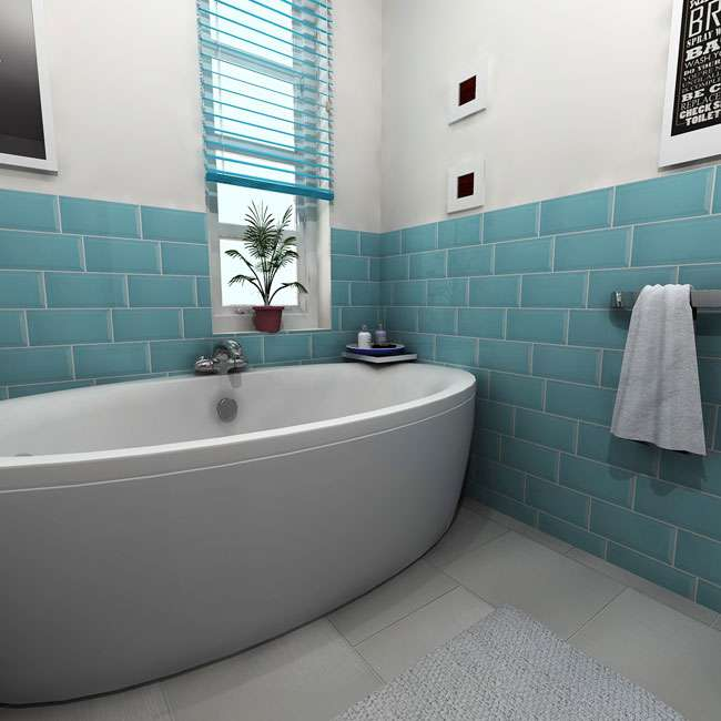 Simple Mollies Bathroom In Fort Greene, Brooklyn Nikki And Chris Bathroom In Astoria, Queens For A Modern Take On The Prewar Bathroom, A Matte Black Hexagon Floor Tile With Striking White Grout Creates A Bold Look This Merola Tile