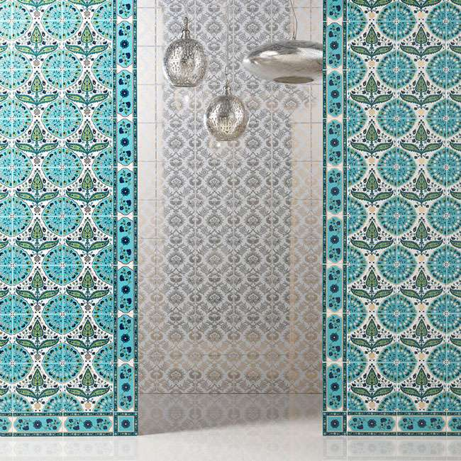 Bring Your Holiday Home With You Exciting Moroccan Tiles Walls