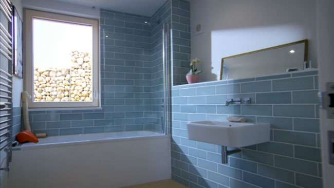 Walls And Floors Provide Tiles For Grand Designs