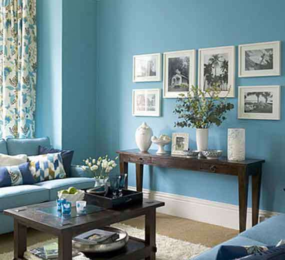 choose fresh light and calming colours to make the room feel airy
