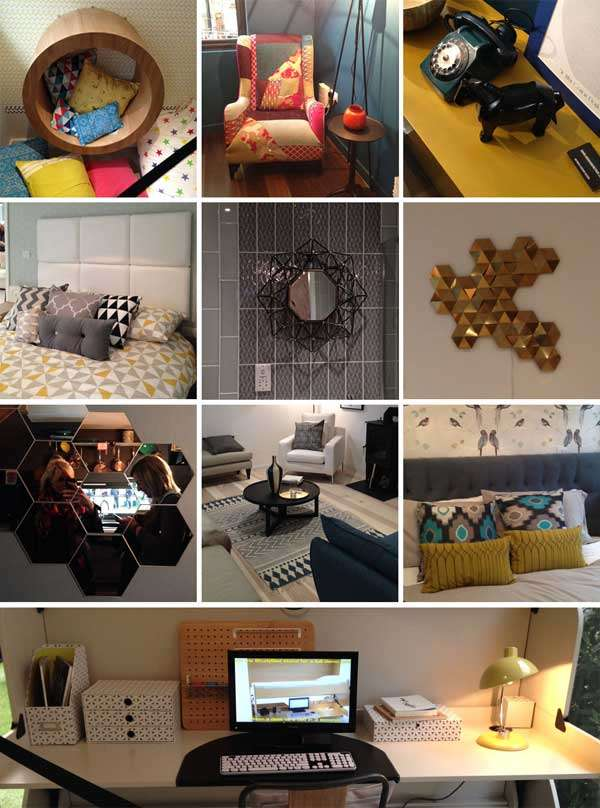 through the keyhole ideal home show london 2015 walls and floors
