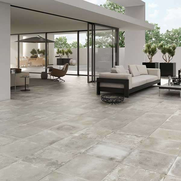 Ditch the Decking: Create An Outdoor Living Area with Patio Tiles ...