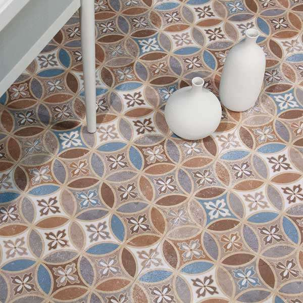 moresque encaustic tiles