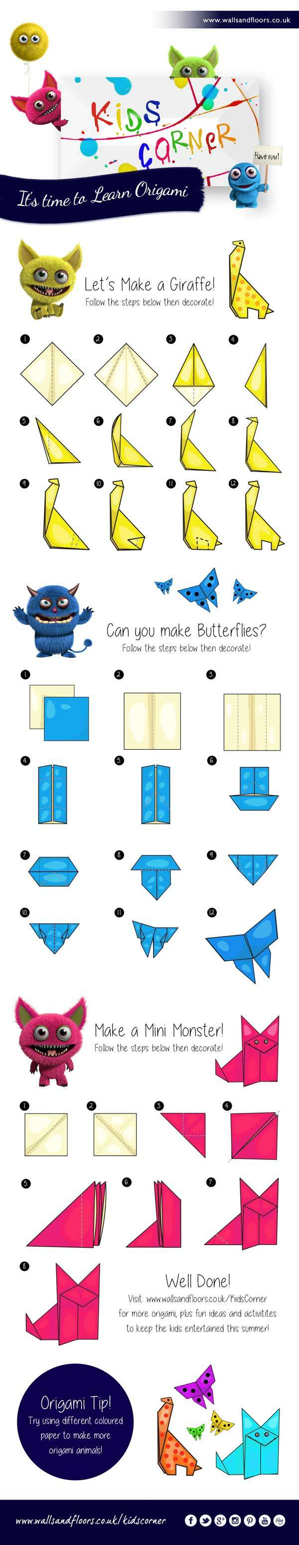 6 easy origami makes