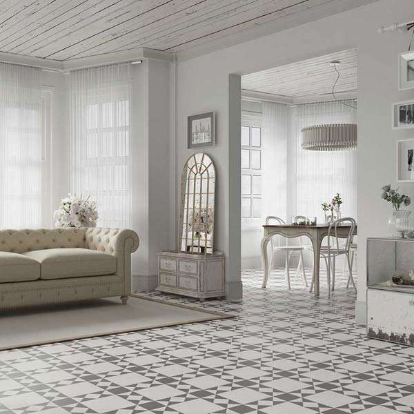 Timeless Period Tiles In Living Room
