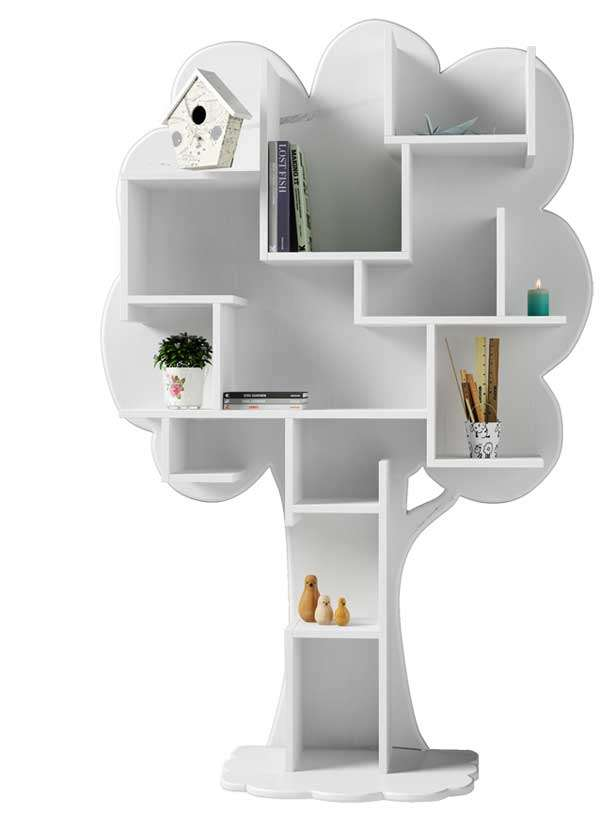 childrens bookcase tree