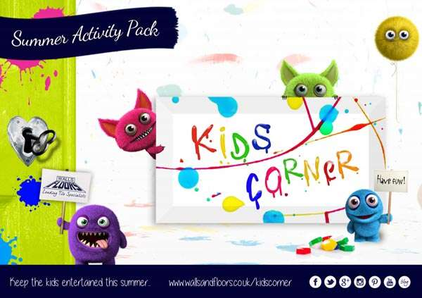 Kids Corner Activity Pack Free Download
