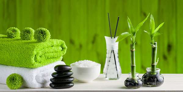 Create a spa style in your bathroom