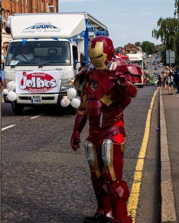 Iron Man Walls and floors Truck