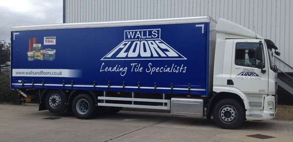 Walls and Floors lorry