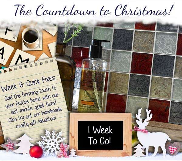 countdown to Christmas quick fixes
