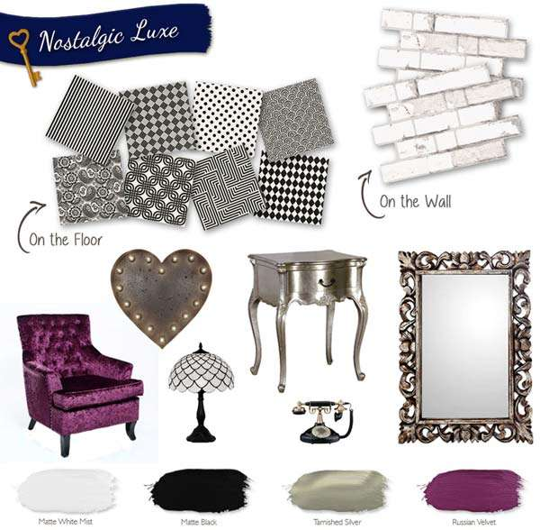 style complemrnts nostaglic luxe