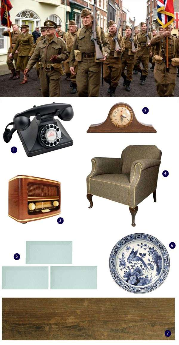 Dad's army 2016 decor ideas 1940's style