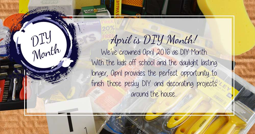 DIY Month Decorating and DIY Projects