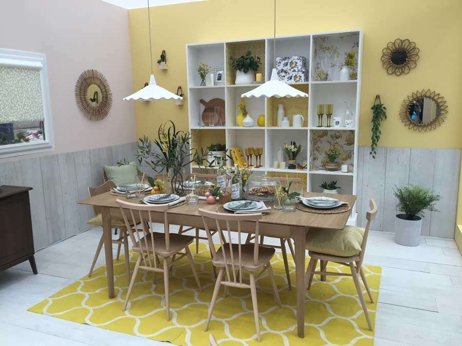 Ideal Home Show dining room