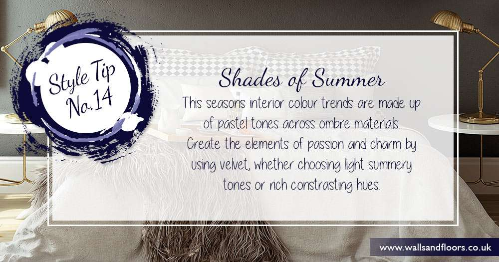 Shades of summer in your home decor