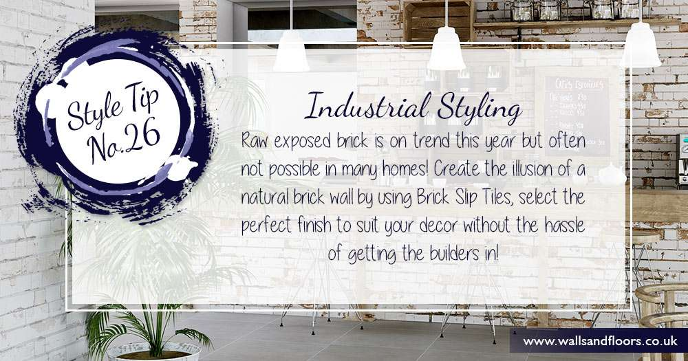 Industrial styling interior design