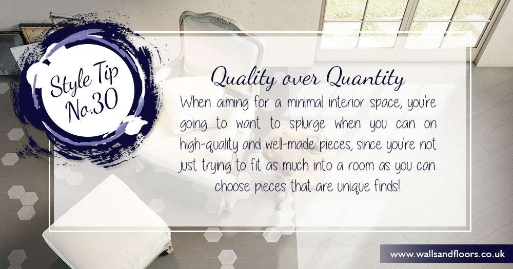 Quality over quanity