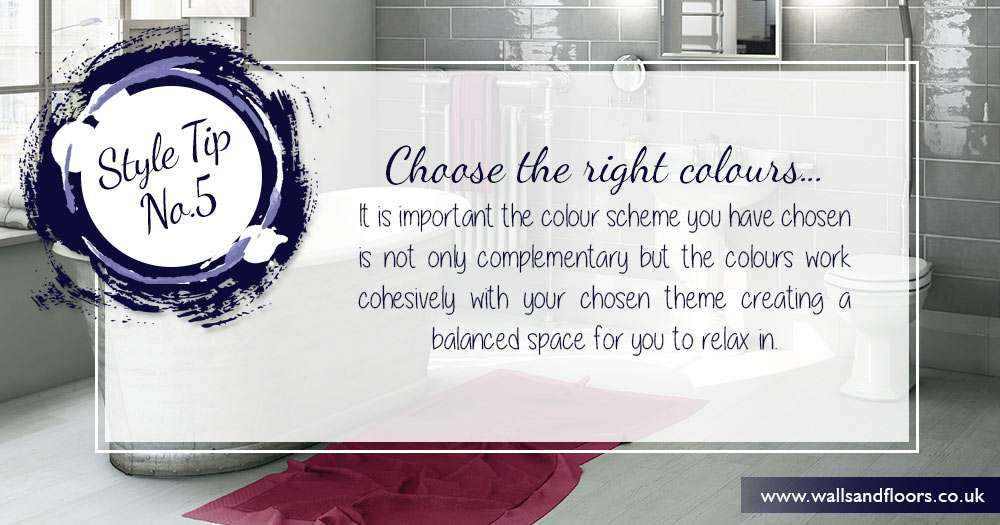 choose the right colour scheme for your decorating project