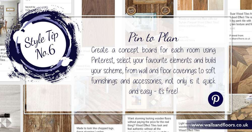 Use Pinterest to plan your decorating project