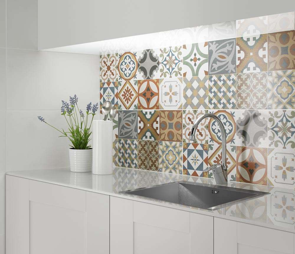 Create A Summery Kitchen with Moroccan Tiles | Walls and Floors