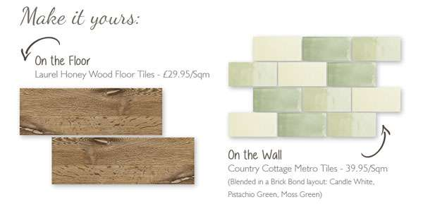 wood effect tiles and metro tiles