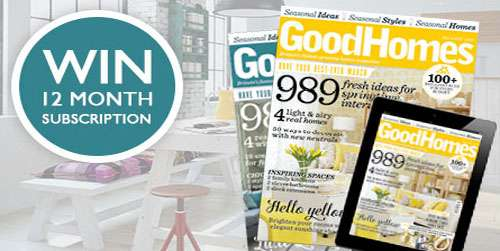 Win subscription to Good Homes Magazine