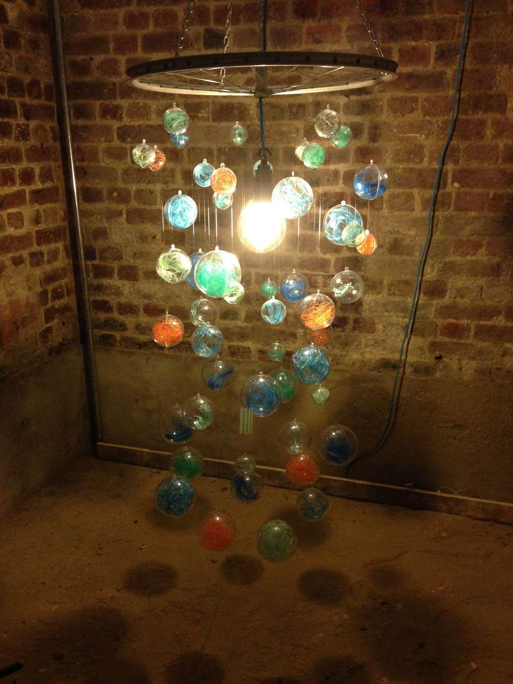 claire potter ghost gear chandelier