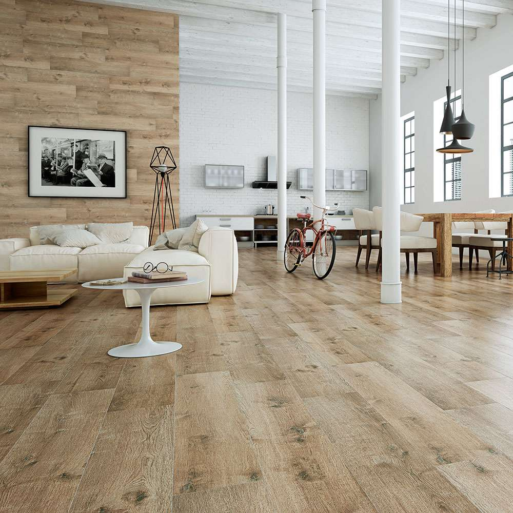 Madagascan wood effect tiles