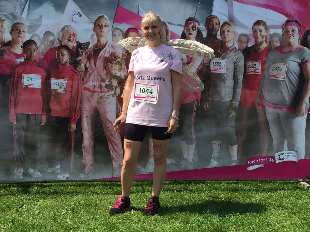 race for life in Northampton