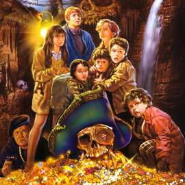 Goonies decor scheme