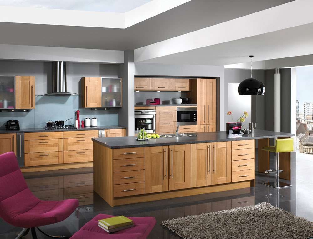 Multi functional kitchen living space