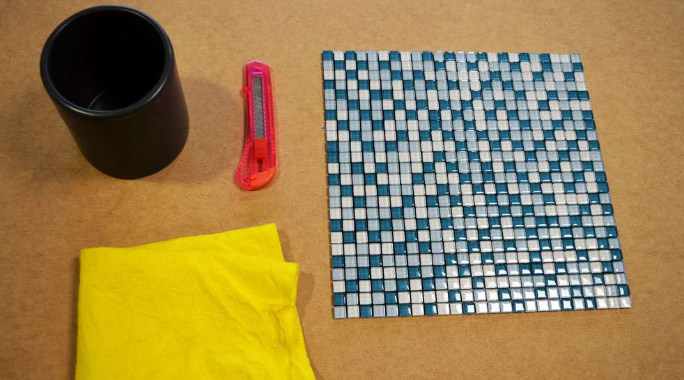 what you need mosaic crafts project