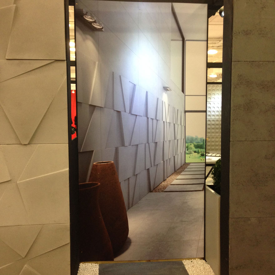 textured wall surface concrete