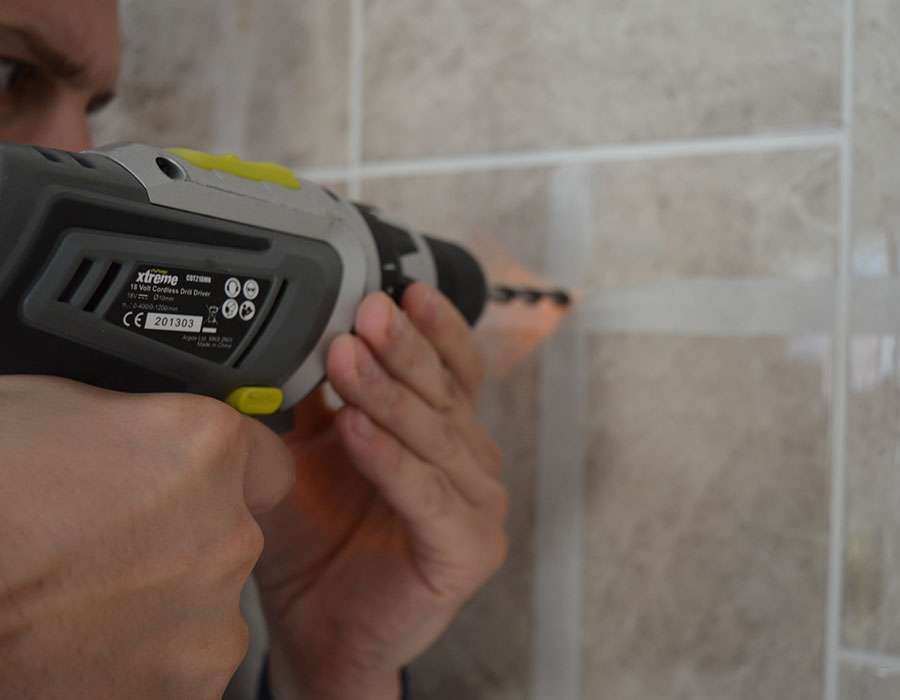how to drill tiles